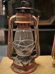 old kerosene lanterns pair of vintage antique metal glass