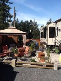 Our Permanent Site In Parksville BC Canada Just Need Fresh Coat Of Paint On Diy CampingCamping StuffCamping IdeasRv
