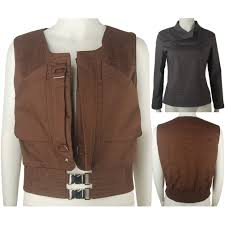 one a star wars story jyn erso vest shirt cosplay costume