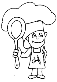 coloriage cuisine coloriage cuisinier
