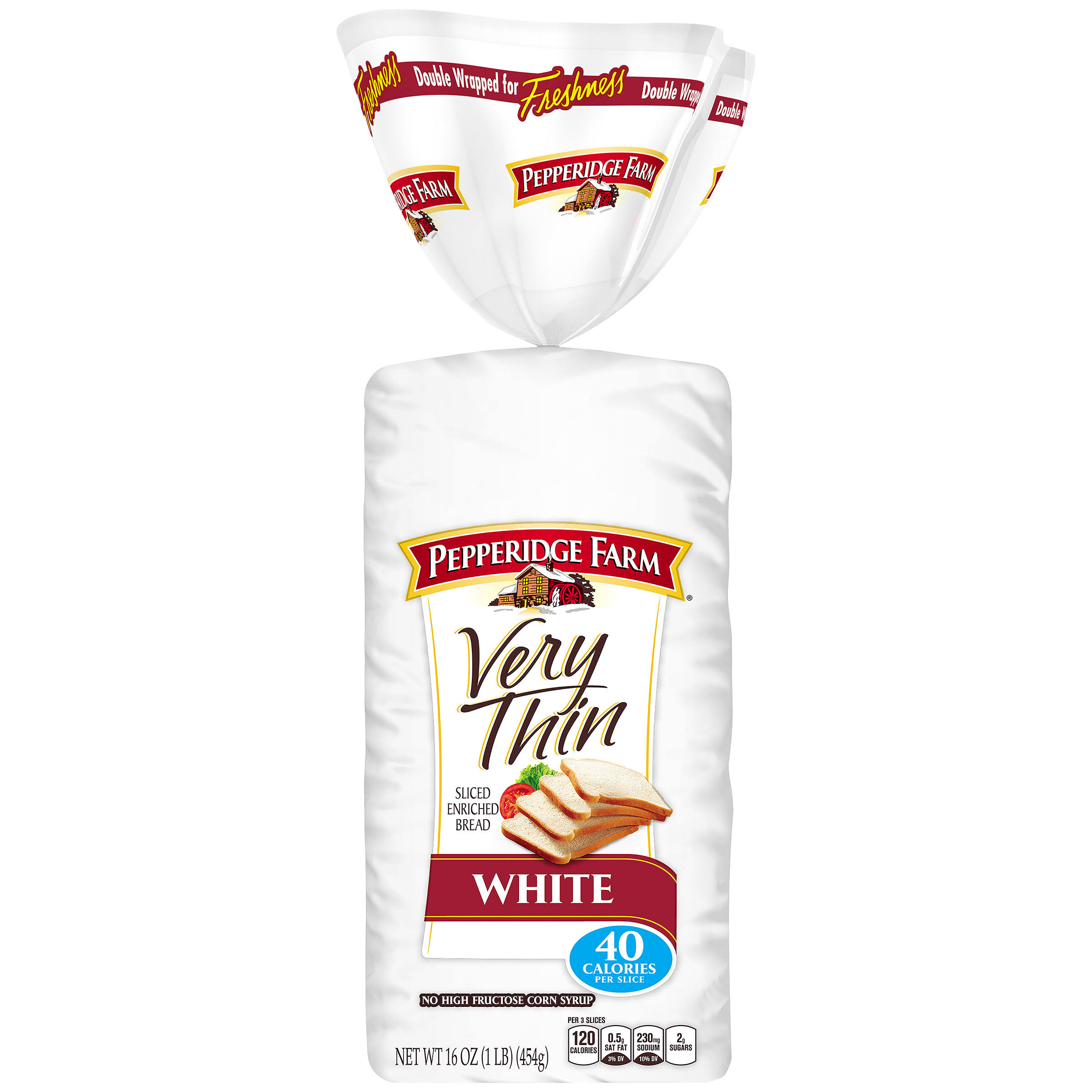 Bread Sliced Enriched White Bread - 16oz