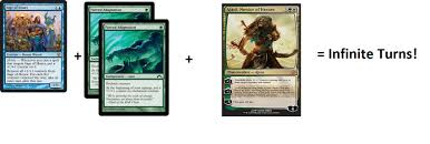 Mtg Enchantment Creature Deck by Standard Infinite Turn Combos Sage Of Hours New Card