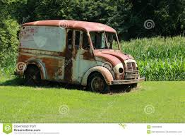 100 Divco Milk Truck For Sale Old Delivery Stock Image Image Of Glass 100535569