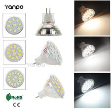 mr11 led bulb light 5733 2835 smd 9leds 2w lada 12leds 3w l