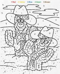 Cactus Color By Number Coloring Page Enjoy This With Our Machine
