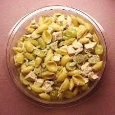salade de pâtes au poulet et aux raisins recettes allrecipes québec