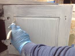 Drill In Cabinet Door Bumper Pads by The Ragged Wren How To Paint Cabinets Secrets From A Professional
