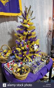 Louisiana State University LSU Specific Christmas Tree Paraphernalia Decorations And