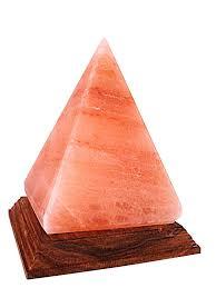 salt l pyramid shape himalayan crystal amazon co uk lighting