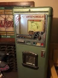 2 Of 12 Vintage Art Deco Stoner Coffee Vending Machine Coin Operated