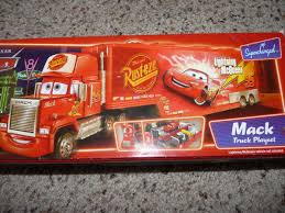 100 Mack Truck Playset Disney Cars Hauler Bachelor Pad Supercharged Series On