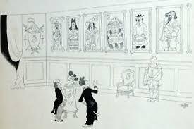 details zu normandie wwii wohnzimmer gemälde humor karikatur albert dubout 1944