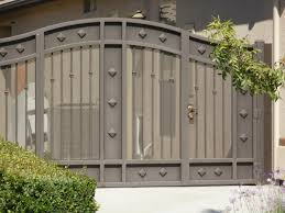 Gates - Fresno Fence Connection Front Doors Gorgeous Door Gate Design For Modern Home Plan Of Iron Fence Best Tremendous Rod Gates 12538 Exterior Awesome Entrance And Decoration Using Light Clever Designs Homes Homesfeed Hot Simple In Kerala Addition To Firstrate 1000 Ideas Stesyllabus Concrete Driveway Automatic Openers With