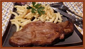 comment cuisiner des cotes de porc côtes de porc marinées à l ail cuites au four oh la gourmande