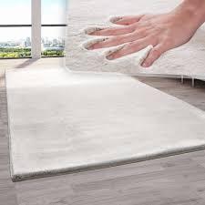 teppich fellteppich kunstfell wohnzimmer hochflor shaggy flauschig weich plüsch beige