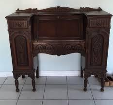 Drop Front Secretary Desk Antique by Wonderfull Antique Drop Front Secretary Desk Home And Garden Decor