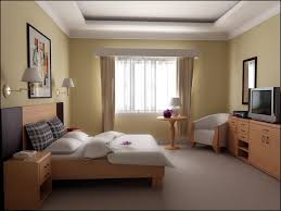 bedroom decorating ideas color schemes light with yellow teak wood
