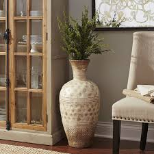 Image Of Wooden Decorative Vases For Living Room