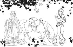 Tangled Coloring Sheets On Page To Print And Color