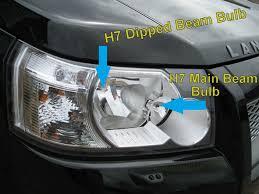 land rover freelander 2 osram h7 breaker halogen headlight