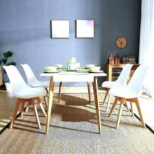 Retro Dining Set Four Room Chairs Vintage