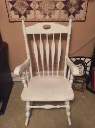 Chalk Painted My Rocking Chair!   Things Made By Me!   Pinterest ... Archive Sarah Jane Hemsley Upholstery Traditional The Perfect Best Of Rocking Chairs On Fixer Upper Pic Uniquely Grace Illustrated 3d Chair Chalk Painted Fabric Makeover Shabby Paints Oak Wax Garden Feet Rancho Drop Cucamonga Spray Paint Wicked Diy Thrift Store Ding Macro Strong Llc Pating Fabric With Chalk Paint Diytasured Childs Rocking Chair Painted In Multi Colors Decoupaged Layering Farmhouse Look Annie Sloan In Duck Egg Blue With Chalk Paint Rocking Chair Makeover Easy Tutorial For Beginners