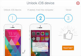 How to unlock iPhone and trust puter