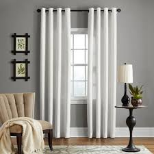 Bed Bath And Beyond Curtains 108 by Buy Linen 108 Inch Window Curtain Panel In White From Bed Bath