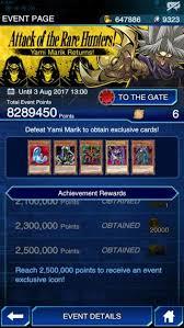 Yami Marik Deck Battle City by Yami Marik Unlock Event Attack Of The Rare Hunters Yugioh