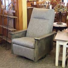 McCoy Swivel Rocker Recliner - Amish Oak