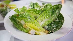 Cat Cora s spicy Caesar & spinach salad & lemon pie recipes