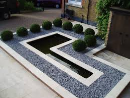 Garden Design With Mimosa Landscapes Ltd Award Winning Gardens Portfolio Front Parterre From Mimosalandscapes