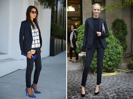 3 reasons you need a navy blazer julianne