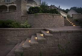 multi level patio and retaining wall rusk enterprises llc