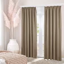 braun blickdichte vorhänge und weitere gardinen vorhänge