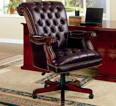Traditional Burgundy Vinyl Executive Chair W/Nailhead Trim Plush Rolled Back Design Traditional Button Tufted Executive Office Shop Osp Home Furnishings Rebecca Fabric Kincaid Fniture Accent Chairs Upholstered Chair With Of America Bovill Cmfc644gy Solutions Winsome Leather Coaster 515k Side Hooker Juliet Transitional Swivel Whitney Without Nailhead Trim Bettco Son Grey Fairfield 546635 Curved High With Nail Heads Rustic Brown Ding