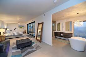 modern open plan master bedroom trendecors