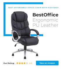 ▷ 14 New & Best Office Chairs In 2019 | Under $100, $200 ... Kadirya Recling Leather Office Chairhigh Back Executive Chair With Adjustable Angle Recline Locking System And Footrest Thick Padding For Comfort Lazboy Steve Contemporary Europeaninspired Moby Black Low Flash Fniture High Burgundy The Best Office Chair Of 2019 Creative Bloq Keswick Lift Rise Strless Ldon Nationwide Delivery City Batick Snow Chrome Base Recliner By Ekornes Gaming Chairs Obg65bk Details About Ergonomic Armchair