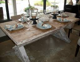 Old Diy Farmhouse Kitchen Table Painted With White Chalk Paint Color Colors Furniture Decor Plus Glass