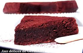 dessert pour 15 personnes aux délices de géraldine gâteau fondant au chocolat amande et