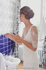coiffure de mariée romantique chignon flou wedding