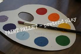 Pretend Paint Pallet