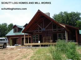 100 Oak Chalet Log Home Kit Schutt Log Homes And Mill Works
