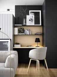 am ager un coin bureau dans un salon amenager coin bureau salon idées décoration intérieure