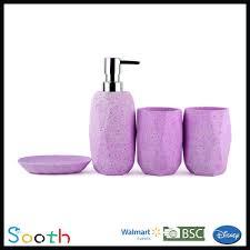 Walmart Purple Bathroom Sets by Purple Bathroom Accessories Set Purple Bathroom Accessories Set
