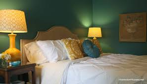 Beautiful Teal And Gold Bedroom Home Design Ideas