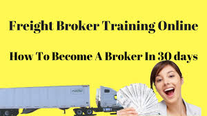 100 How To Become A Truck Broker Freight Training Online Freight In