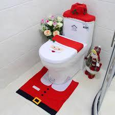 bad frottierwaren weihnachten toilettensitzbezug