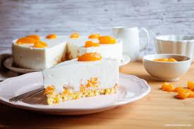 mandarinen quark torte fettarm cakeandcompass