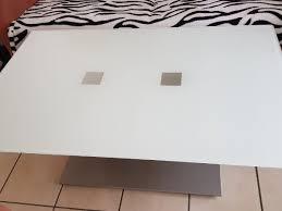 glastisch höhenverstellbar in münchen couchtische
